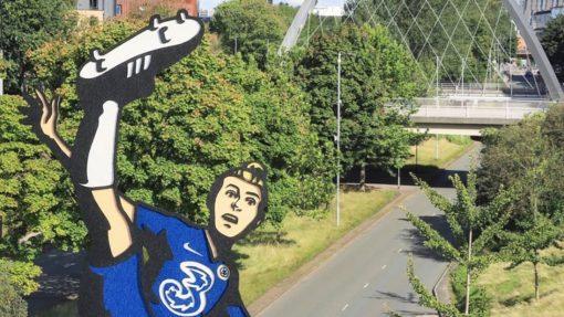 Artist transforms Chelsea FC Women heroes using unique paper cut-outs image